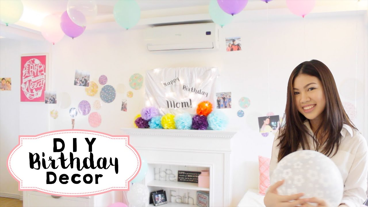 5 DIY Birthday Decor Ideas