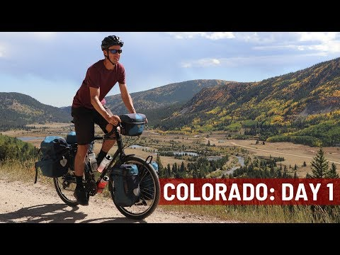 My COLORADO Bike Tour (Day 1) - Bicycle Touring Pro / EP. #263