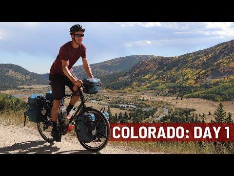 My COLORADO Bike Tour (Day 1) - Bicycle Touring Pro / EP. #263