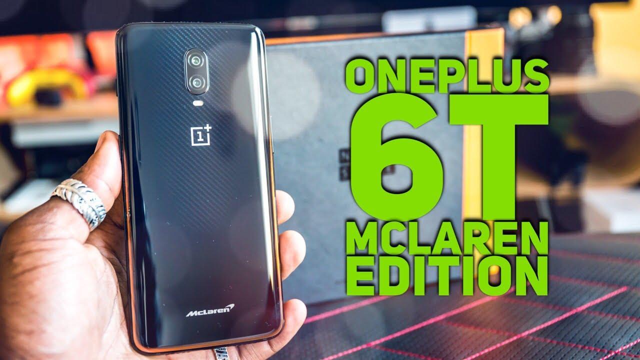 oneplus 6t mclaren edition a6010