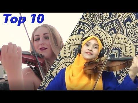 Top 10 Violin Cover Songs May 2017