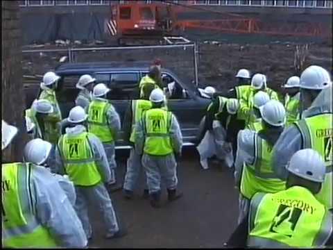Roundshaw Estate - Instone Close Demolition Nov 2000