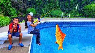 Хайди и Зидан и веселая история про рыбалку