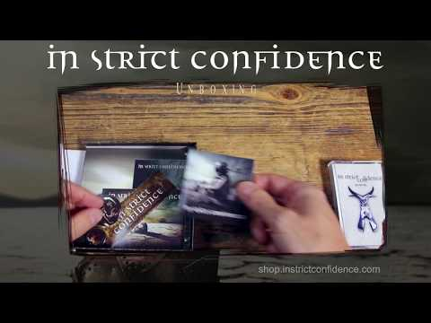 """In Strict Confidence """"THE HARDEST HEART"""" UNBOXING!"""