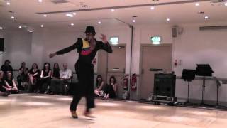 Sami Pilar's solo performance 2 at Scottish Salsa Congress on Sunday 16th January 2011