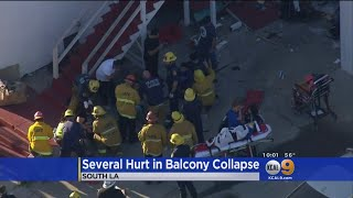 5 Hurt After Balcony Collapses In South Park
