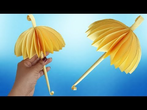 How To Make Beautiful Umbrella, Kids Paper Craft  Ideas