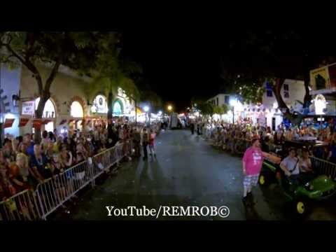 Key West CRAZY Fantasy Fest Parade 2013
