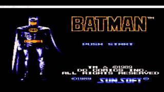 Batman Atari oyunu (atari,nes game) (atari,nes game)