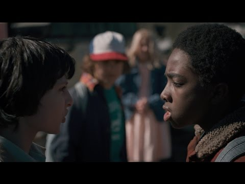 Stranger Things - Mike and Lucas Fight scene HD