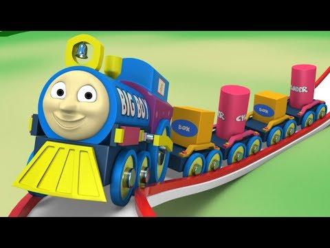 Trains For Kids - Thomas The Train - Cartoon Train - Toys Cartoon - Toy Factory Cartoon - Train