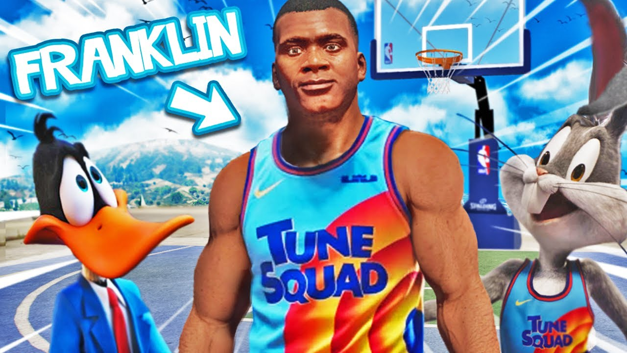 Joining the NEW SPACE JAM 2 Team In GTA 5 (Movie)