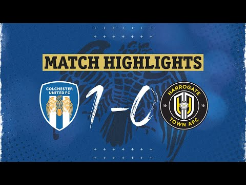 Colchester Harrogate Goals And Highlights
