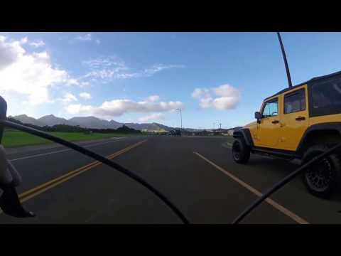 Riding Around Schofield Barracks, Hawaii
