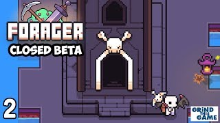 FORAGER Closed Beta 4.2 #2 - Skull Galaxy