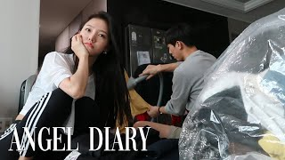 ANGEL DIARY | Getting ready to…
