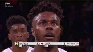 SMU vs Michigan 11-18-16