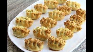 Пирожки закусочные к праздничному столу  🔶  Мини пирожки для фуршета