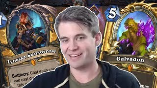 (Hearthstone) Lynessa and Galvadon: Best Buds Forever