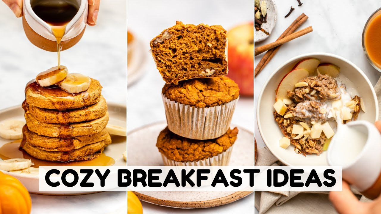 Cozy Fall Breakfast Ideas | Vegan & GF