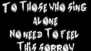 Fallen Angels~Black Veil Brides (Lyrics)