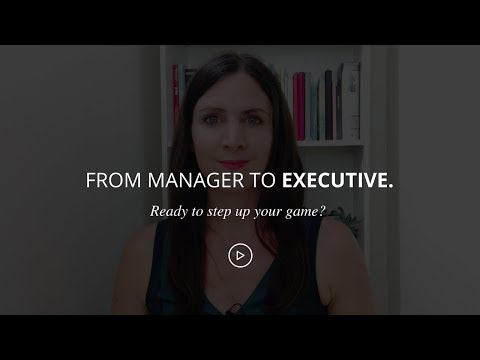 From Manager To Executive: How To Get An Executive Job [Training On Demand]