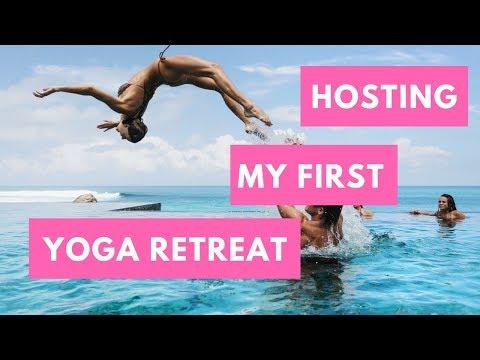 Hosting My First Yoga Retreat!