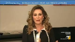 Santanchè (FdI): 'Reati in calo? Tanti italiani non denunciano più'