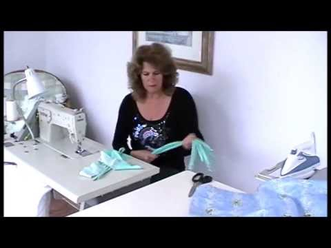 MAKING TIE-TOP CURTAINS - YouTube