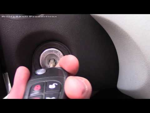 Jaguar X Type How To Pair Key Fob To The Car - RustySkull Productions