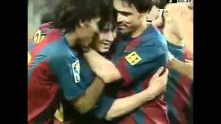 Lionel Messi Debut For Barcelona [16-05-2003] [Offside Goal & Official Goal]