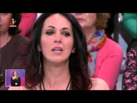 Cristina e Manuel emocionam-se com Paula Teixeira