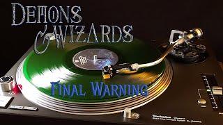 Demons & Wizards - Final Warning - Transparent Green Vinyl LP