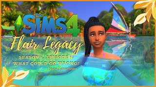 🍍 WHAT COULD GO WRONG🍍 | Sims 4 Legacy Challenge | Flair Season 1, Episode 1