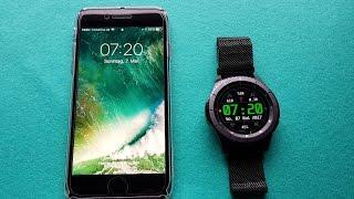 Samsung Gear S3 mit iPhone verbinden: Installation unter iOS