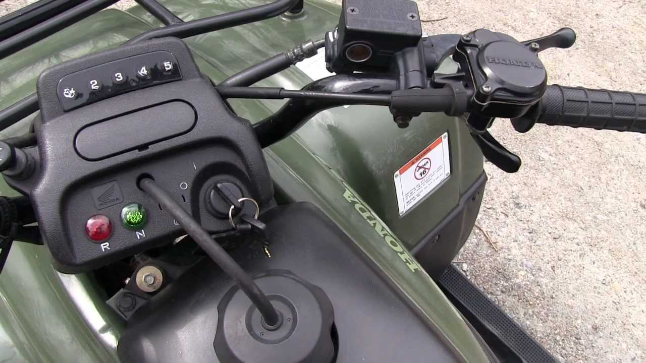 "Honda Four Wheelers For Sale >> 03"" Honda ATV RECON ES 250 FOR SALE $1,850 - YouTube"