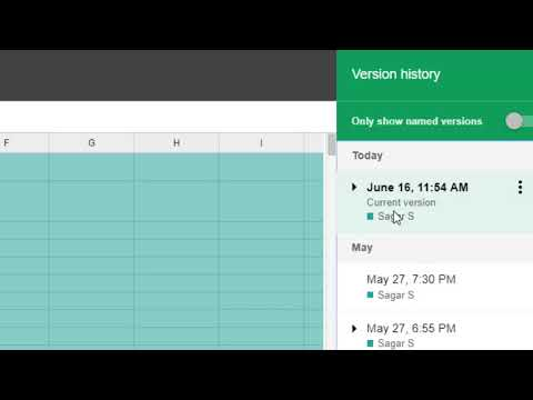 How To Revert To Old Version In Google Sheets | See Version History | Recover Sheet Easily