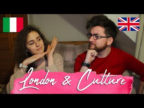 Moving and London Culture with Liam Dryden ITALIAN vs ENGLISH