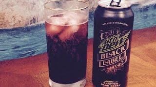 Mtn Dew Black Label Dark Berry Beverage Review, Info ASMR Whipsers