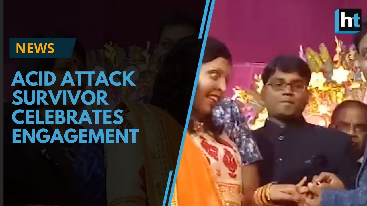 Acid attack survivor Pramodini Roul celebrates her engagement on Valentin's Day