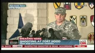 Fort Hood Shooting Press Conference (April 2, 2014, 9:42 PM CT)
