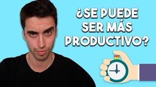 ¿Puedes ser más productivo? | 4 técnicas para aumentar tu productividad