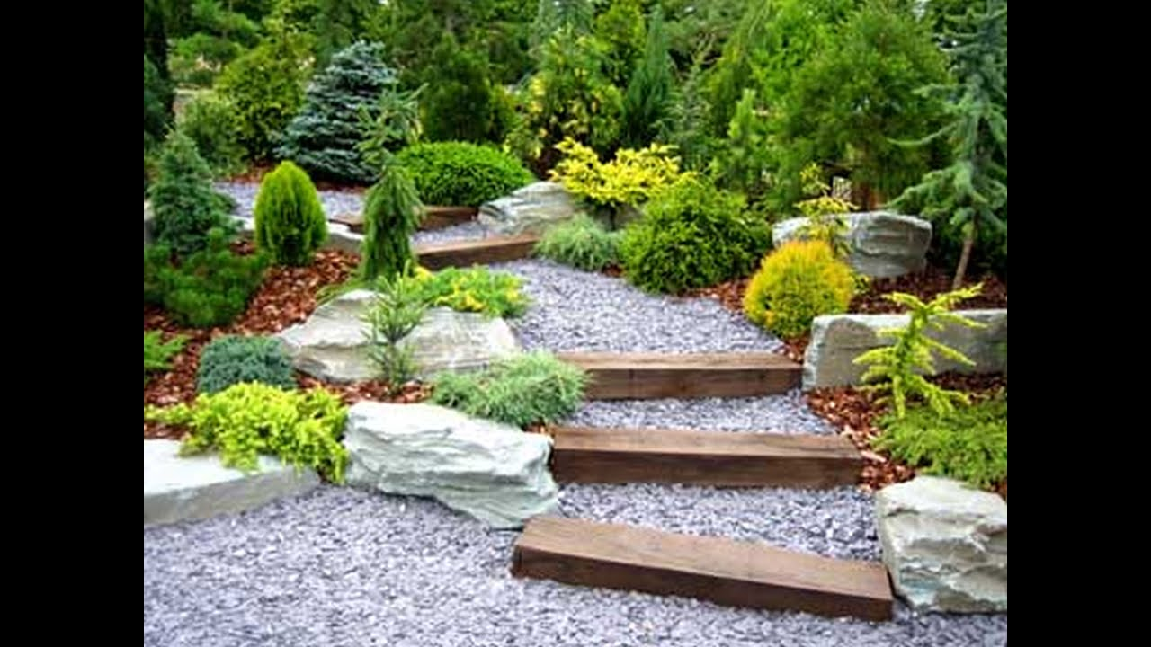 DIY Landscaping Design Ideas on a Budget - YouTube