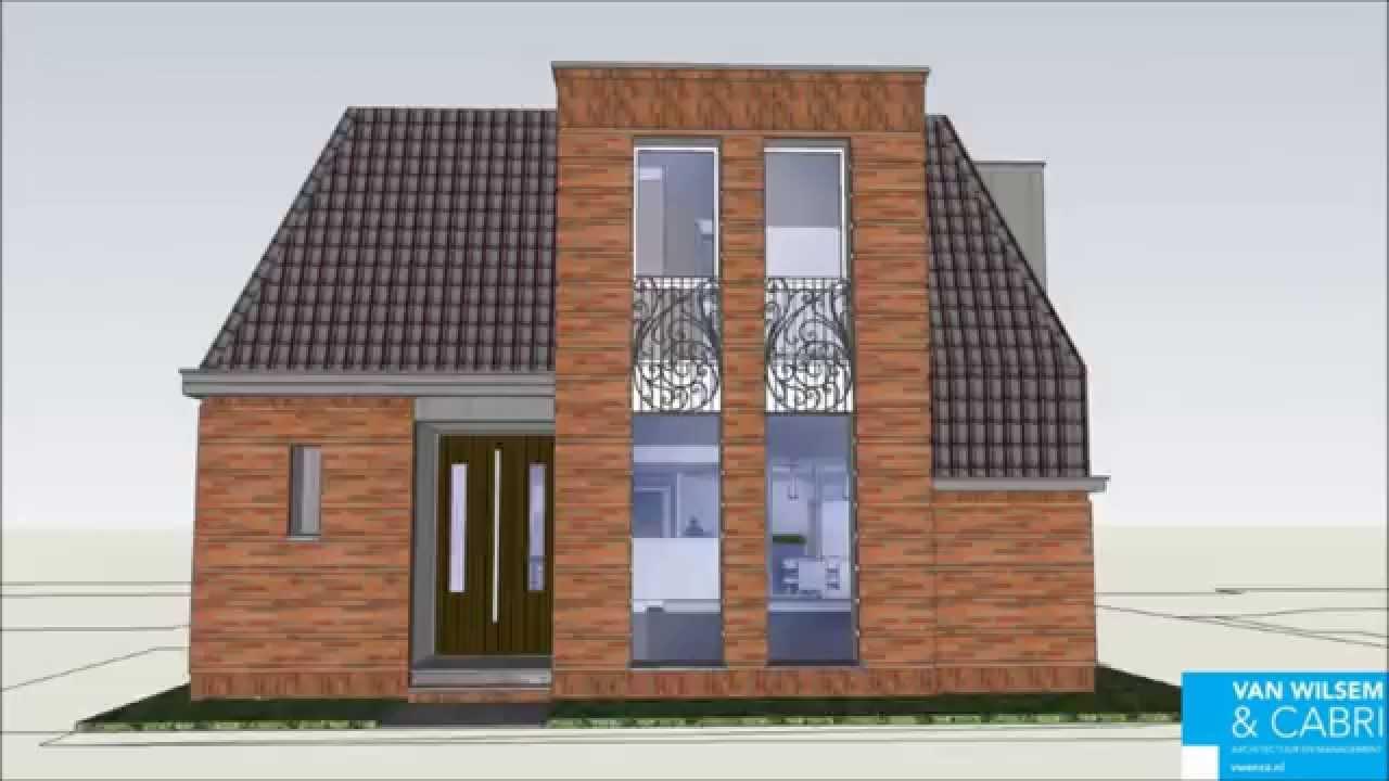 Klassiek moderne woning definitief ontwerp youtube for Moderne aanbouw aan klassiek huis