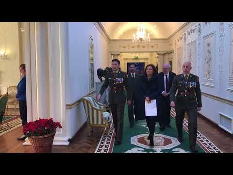 Ambassador of Peru presents her Letters of Credence to President Higgins