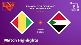 Гвинея  2-2  Судан видео