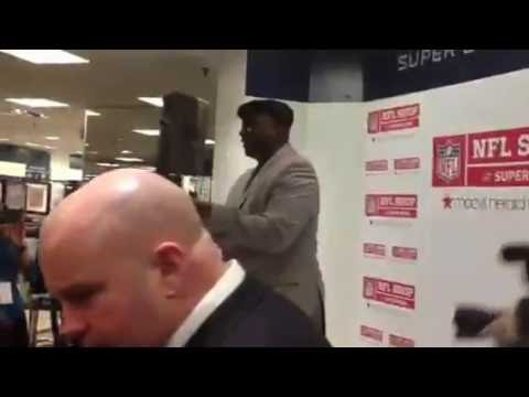 NFL Legend Ottis O.J. Anderson at Macys
