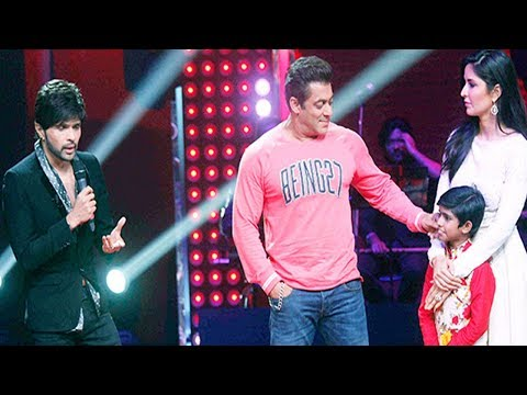 Salman Khan And Katrina Kaif On The Voice India Kids 2017