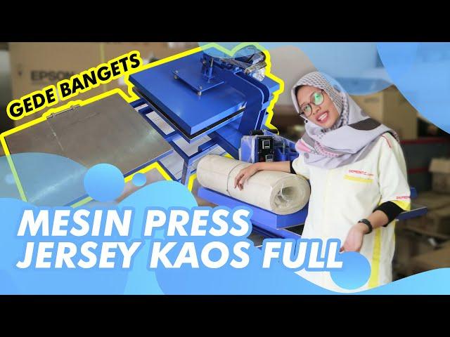 Press kaos ukuran Jumbo!! Bisa langsung press banyak sekaligus