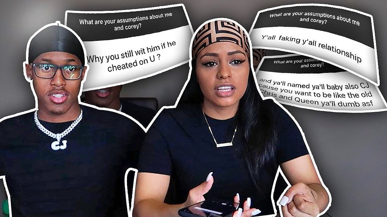 ANSWERING YOUR ASSUMPTIONS ABOUT US!! **GETS REAL**????